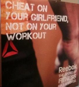 Reebok unethical marketing message